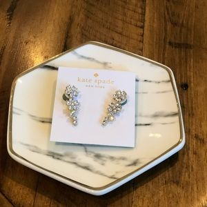 🆕 NWT Kate Spade Flower Ear Pins / Earrings